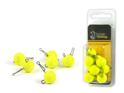 Груз Akara чебурашка round yellow с застежкой