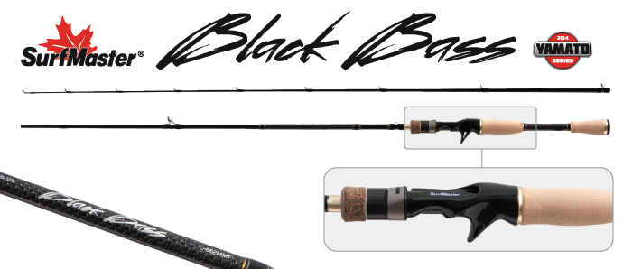 �������� ��������� �������� 2 ������ Surf Master K1227 Black Bass Cast � ������ TX-20 Surfmaster