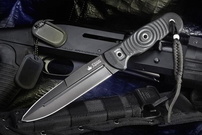 Нож Legion Черный D2 Kizlyar Supreme