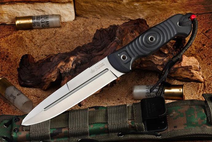 Нож Legion Полированный AUS8 Kizlyar Supreme