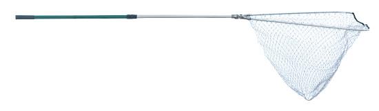 Подсачек Akara LS 80 2302 F алюминиевый складная голова лесковая сетка