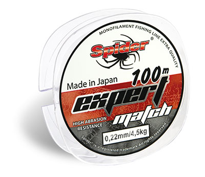 Леска SPIDER Expert Match 100 м