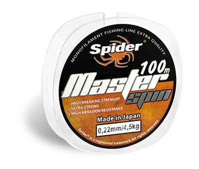 Леска SPIDER Master Spin 100 м