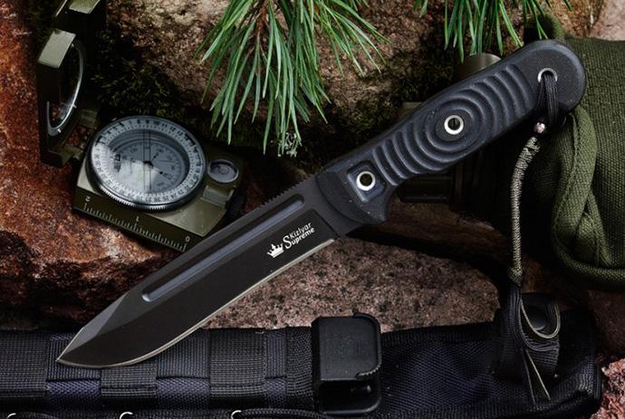 Нож Maximus Черный D2 Kizlyar Supreme