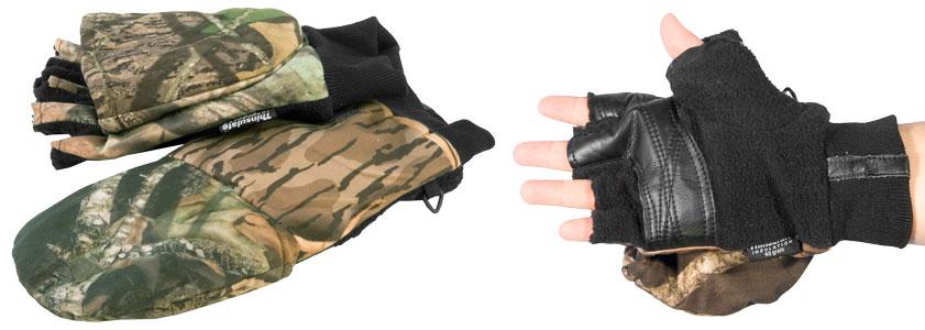 Рукавицы-перчатки TR 0822 с обрезанными пальцами КМФ Tagrider