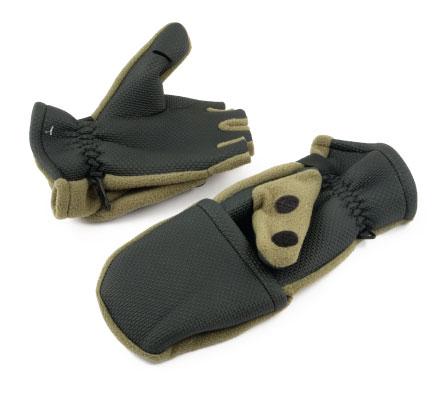 Рукавицы-перчатки TR 0913-14 с обрезанными пальцами неопреновые с флисом Tagrider