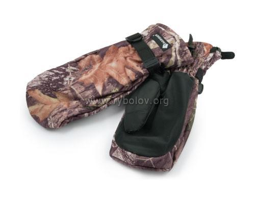Рукавицы TR 0911-12 КМФ + перчатки флис без пальцев Tagrider