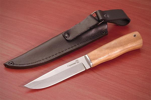 Нож Странник (полированный дерево) Kizlyar