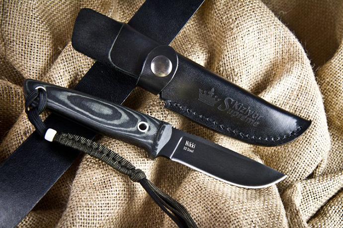 Нож Nikki Черный D2 Kizlyar Supreme