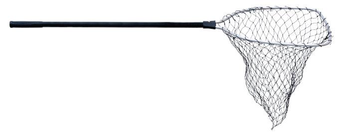 Подсачек Akara 42х80 см алюминиевый лесковая сетка