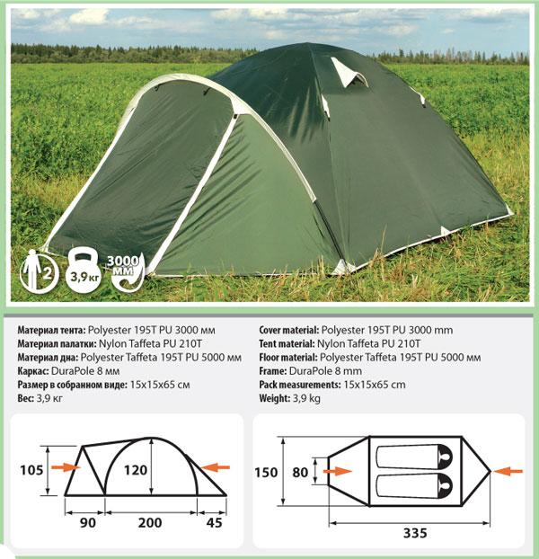 Палатка Verticale Nano / Nano 2