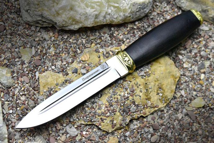 Нож Пограничник-2 (граб/латунь) Kizlyar