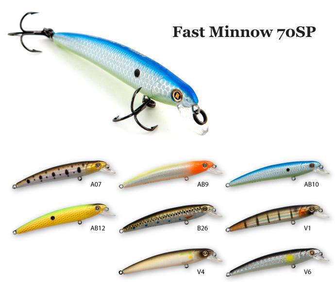 ������ Raiden Fast Minnow 70SP