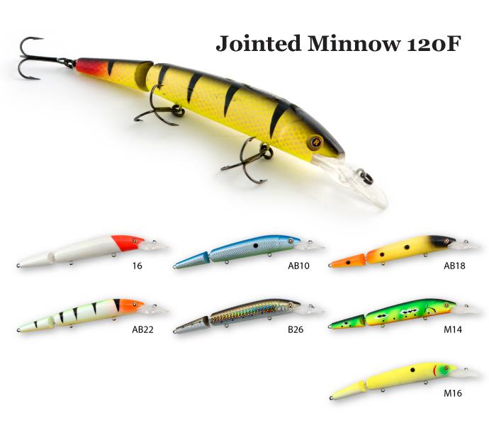 ������ Raiden Jointed Minnow 120F