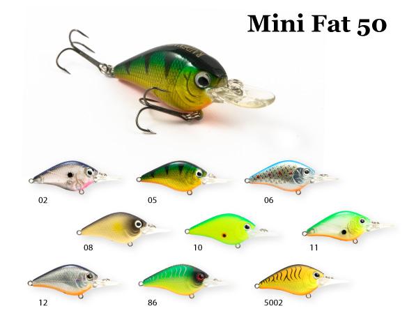 Воблер RAIDEN Mini Fat 50