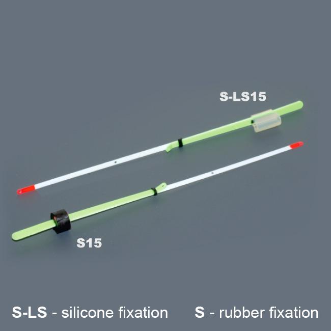 Кивок лавсановый двойной на силиконе NOD S-LS15 Akara