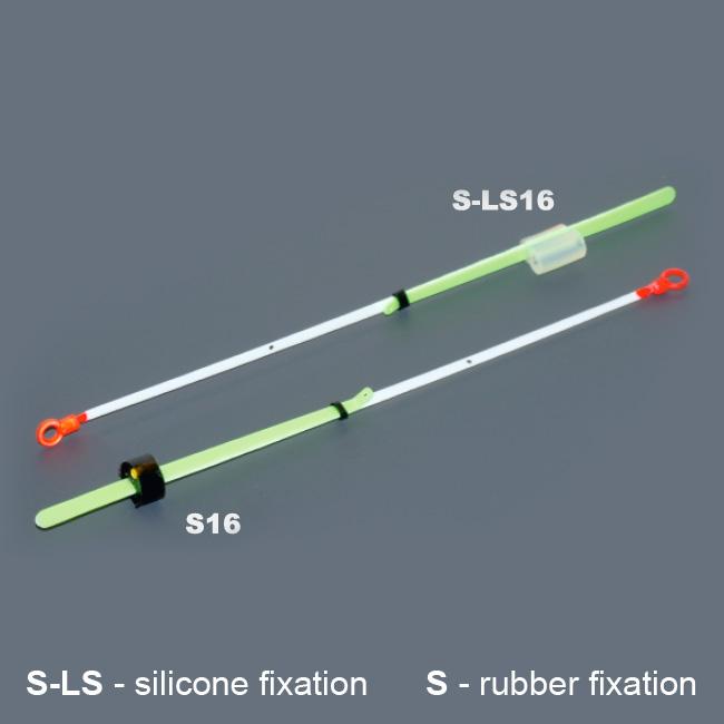 Кивок лавсановый двойной на силиконе NOD S-LS16 Akara