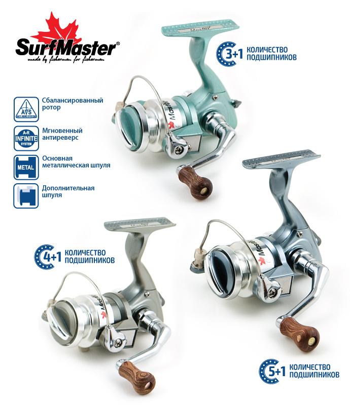 Катушка безынерционная Surf Master - VS05 Surfmaster