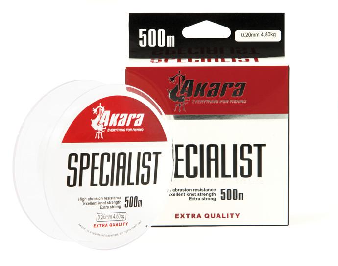 Леска Akara Specialist прозрачная 500 м