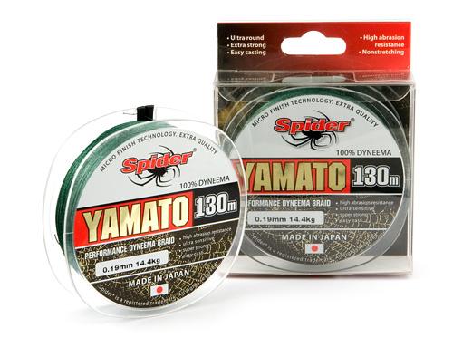 Шнур Spider Yamato green 130 м