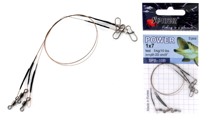 ������� Spider Power 1�7 SPB-10B,25B 5�� 23�� brown