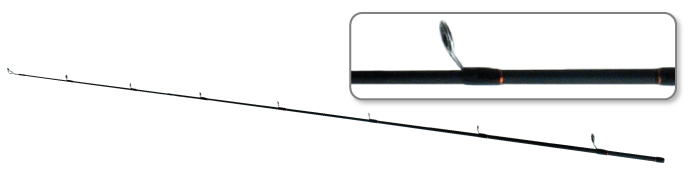 Хлыст угольный для спиннинга S Master 3155 Chokai Series Isama Jig Surfmaster