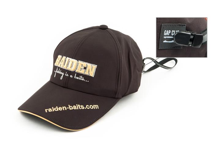 Кепка-бейсболка Raiden нейлон с клипсой