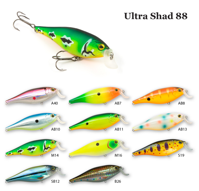 ������ RAIDEN Ultra Shad 88