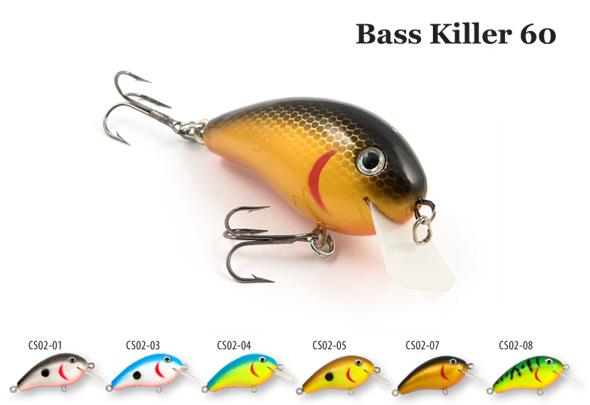 Воблер деревянный RAIDEN Bass Killer 60