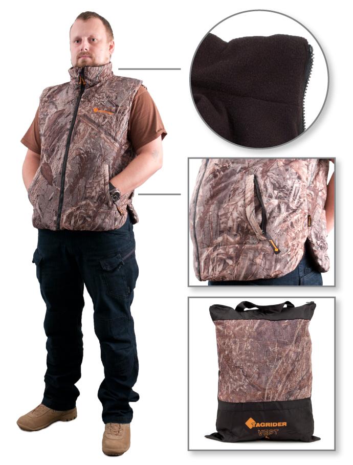 Жилет утепленный Tagrider Vest