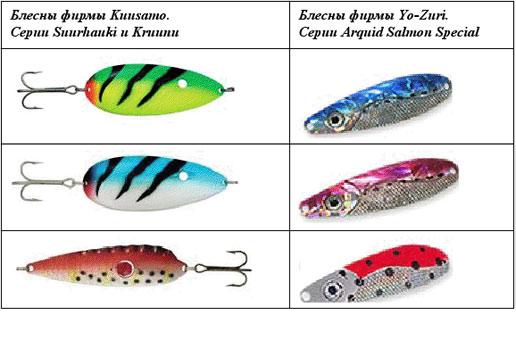 Выбор рыболовной приманки для ловли лосося