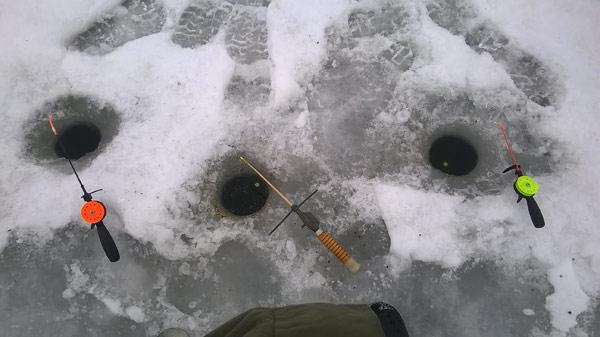 основы зимней рыбалки