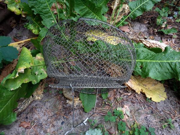 садок для ловли рыбы