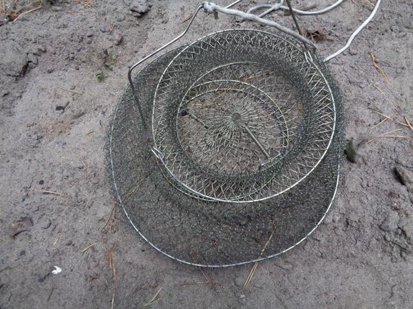 садок рыболовный метталический