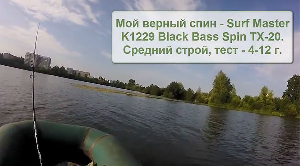 SM Black Bass Spin