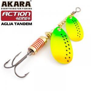 Блесна вертушка Akara Action Series Aglia Tandem