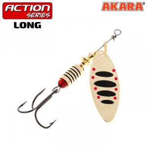 Блесна вертушка Akara Action Series Long