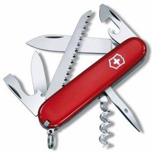 Нож Victorinox Camper (1.3613), 91мм 13ф., красный
