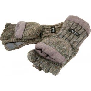 Рукавицы-перчатки TR 1065-3 с обрез. пальцами вязаные светл.