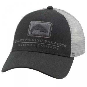 Кепка Simms Trout Icon Trucker Cap Black
