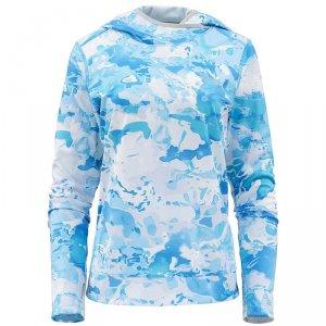 Термофутболка Simms Womens Solarflex UltraCool Hoody Cloud Camo Blue