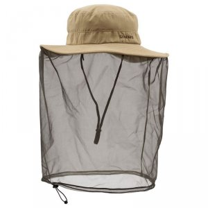 Шляпа Simms BugStopper Net Sombrero Cork