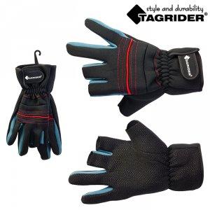Перчатки Tagrider 2102-5 неопреновые без 3-х пальцев