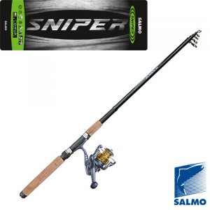 Спиннинг-комплект Salmo Sniper Travel Spin Set