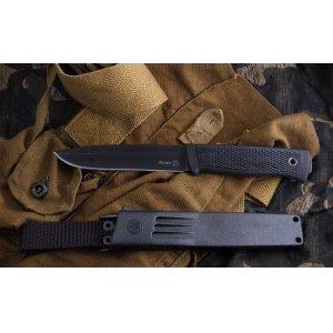 Нож Филин (черный эластрон) 39733