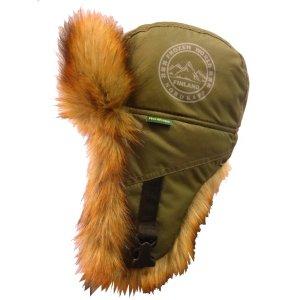 Шапка-ушанка Oster FrozenWorld khaki 555
