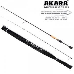 Спиннинг штекерный угольный 2 колена Akara Simanto Micro Jig TX-30