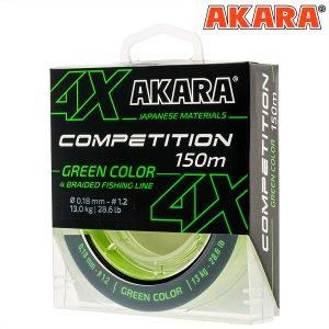 Шнур Akara Competition Green 150 м