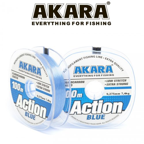 Леска Akara Action Blue 100 м