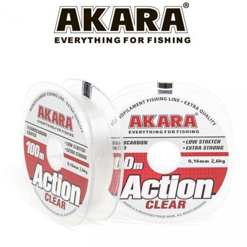 Леска Akara Action Clear 100 м